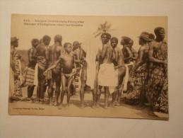 Carte Postale - AOF - Danses D'Indigénes (chez Les Ebriés) (222) - Ansichtskarten