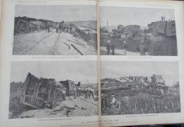 N°38 JOURNAL ILLUSTRE 1888: VELARS CATASTROPHE FERROVIAIRE/LE HAVRE ARRESTATION ALTMAYER - 1850 - 1899