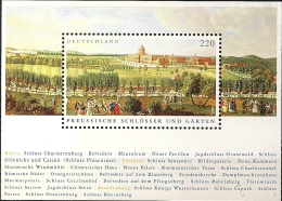 2005 Allem. Fed.  Mi. Block 66** MNH  Preußische Schlösser Und Gärten - [7] Federal Republic