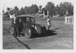 """01324 """"AUTO - FIAT 500 TOPOLINO - ADDIS ABEBA- 1940 - CAMPO OSTACOLI"""" ANIMATA. FOTOGRAFIA ORIGINALE - Automobili"""