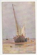 ILLUSTRATEUR - SUR LE SABLE PRES  BOULOGNE - BATEAU - TUCK & SONS - OILETTE, WIDE WIDE WORLD 7217 - Tuck, Raphael