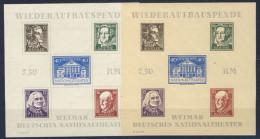 SBZ Th�ringen Block 3 A/B ** postfrisch