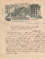 Berlin - Paul Eggebrecht - Weingrosshandlung - 1903 - 1900 – 1949