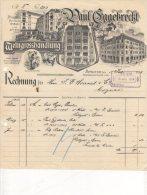 Berlin - Paul Eggebrecht - Weingrosshandlung - 1914 - 1900 – 1949