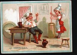 CHROMO, CHOCOLATERIE ST PHILIPPE, LES REGIONS, LA NORMANDIE - Chocolat