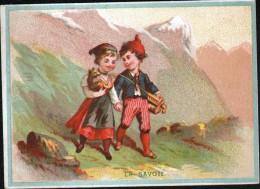 CHROMO, CHOCOLATERIE ST PHILIPPE, LES REGIONS, LA SAVOIE - Chocolat