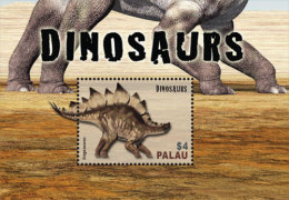 PALAU  IGPC # 1439 S ; MINT N H STAMPS OF DINOSAURS - Palau