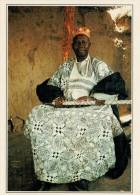 BURKINA:  CAPO  LOCALE A KOMBISSIRI      (NUOVA CON DESCRIZIONE DEL SITO SUL RETRO) - Burkina Faso