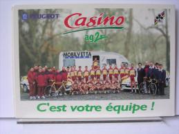 CYCLISTES - EQUIPE PEUGEOT CASINO AG2R - Radsport