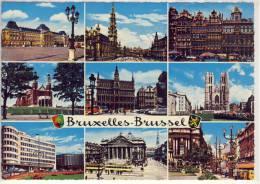 BRUXELLES - BRUSSEL, Mehransichten - Multi-vues, Vues Panoramiques