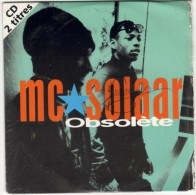 MC SOLAAR : Obsolète / Le Syndrome De Stockholm (CD Single) - Rap & Hip Hop