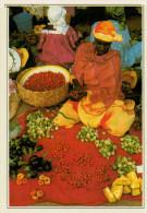SENEGAL  SAINT LOUIS:  IL  MERCATO      (NUOVA CON DESCRIZIONE DEL SITO SUL RETRO) - Senegal