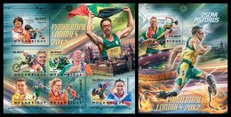 MOZAMBIQUE 2012 - London Paralympics - YT 5197-5202 + BF 642; CV = 38 € - Handisport