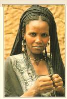 NIGERIA  INGALL:  DONNA  TUAREG      (NUOVA CON DESCRIZIONE DEL SITO SUL RETRO) - Nigeria