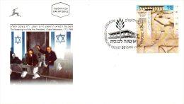 ISRAEL. N°1432 Sur Enveloppe 1er Jour De 1999. Knesset. - FDC
