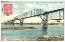 Canadian Pacific Railway Bridge Near Montréal - 1907 - Montreal