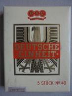 """Ancienne Boite De Cigares RUC """"DEUTSCHE - EINHEIT - 5 MILDE SUMATRA"""" Années 60 - Cigares - Accessoires"""