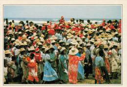 MANANJARY:   FESTA  DELLA  CIRCONCISIONE    (NUOVA CON DESCRIZIONE DEL SITO SUL RETRO) - Madagascar