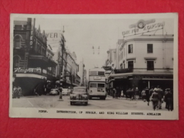 Australia Adelaide  Intersection Of Rundle And King William Streets P1858 Sent 1950 - Adelaide