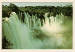 ANGOLA  CALANDULA:  CASCATE DEL LUCALA        (NUOVA CON DESCRIZIONE DEL SITO SUL RETRO) - Angola