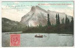 Mt. Rundle And Vermillion Lake, Banff, Alberta - 1907 - Banff