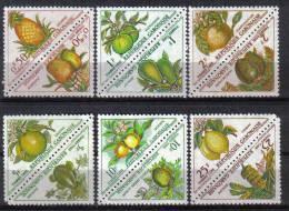 Gabun-1962-Portomarken (34-45)-postfrisch,** - Gabun (1960-...)