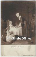 Musée Du Louvre - PARIS - Chardin - La Bénédicité - N° 31 - Peintures & Tableaux