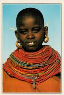 KENYA   RITATTO DI DONNA  SAMBURU        (NUOVA CON DESCRIZIONE DEL SITO SUL RETRO) - Kenia