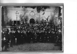 FOTO Originale Su Cartoncino Rigido -- Gruppo Anonimo -- - Persone Anonimi