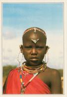 KENYA   NAMANGA:  GIOVANE MASAI     (NUOVA CON DESCRIZIONE DEL SITO SUL RETRO) - Kenia