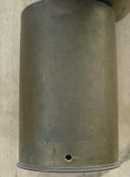 douille francaise 155 c mle 1915 neutralis�e par per�age
