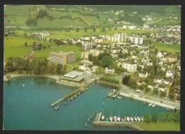 BRUNNEN SZ Alterswohnheim Flugaufnahme Swissair - SZ Schwyz