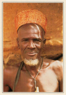BENIN    TENEKA     RITRATTO  D'UOMO     (NUOVA CON DESCRIZIONE DEL SITO SUL RETRO) - Benin