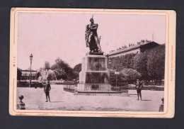 Photo Ancienne - Metz - Esplanade Mit Neydenkmal ( Statue Ney LAUTZ 1892) - Places