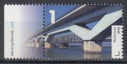 Nederland - Uitgiftedatum 30 Maart 2015 – Bruggen In Nederland  - HSL-brug Moerdijk - MNH/postfris - Bruggen