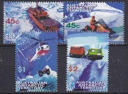 AAT 1998 Transport 4v ** Mnh (20574) - Australisch Antarctisch Territorium (AAT)