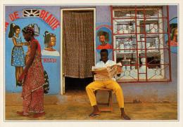 COSTA D'AVORIO  BOUAKE'  UN SALONE DI BELLEZZA       (NUOVA CON DESCRIZIONE DEL SITO SUL RETRO) - Costa D'Avorio