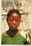 CONGO    MADINGOU:  RITRATTO DI RAGAZZA       (NUOVA CON DESCRIZIONE DEL SITO SUL RETRO) - Congo - Brazzaville