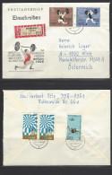 DDR  RECO - Beleg Mi-Nr. 1210 - 1211 Weltmeisterschaften Gewichtheben - Lettres