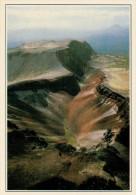 ROTORUA:  IL VULCANO VISTO DALL'ALTO      (NUOVA CON DESCRIZIONE DEL SITO SUL RETRO) - Nuova Zelanda