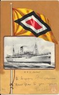 Allemagne - Carte Postale PAQUEBOT - KURFURST  - Seepost 1912 - Paquebots