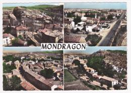 En Avion Au Dessus De Mondragon - Multivue 4 Vues - Circulé 1962 - France