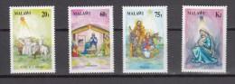 Malawi 1991,4V,christmas,kerstmis,weihnachten,noël,navidad,natale,MH/Ongebruikt(A1615) - Kerstmis