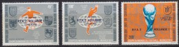 1251(5). Cameroon, 1974, Football World Cup In Germany, MNH (**) Michel 777-779 - Cameroon (1960-...)