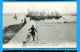 OV1.1015, Le Pouliguen, Loire-Inf, La Jetée à Marée Noire, Animée No164 Circulée Sous Enveloppe - Autres Communes