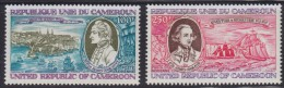 1251(7). Cameroon, 1978, James Cook, MNH (**) Michel 863-864 - Cameroun (1960-...)