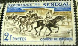 Senegal 1961 Horse Racing 2f - Used - Senegal (1960-...)