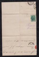 Brazil Brasil 1877 Cover Fragment AMPARO To Rio De Janeiro - Briefe U. Dokumente