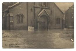 CPA - TILLEUR - Eglise - Kerk - Inondations 1925-26  // - Saint-Nicolas