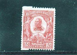 HAITI 1904 *  SPECIALISATION - Haïti